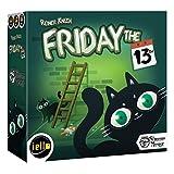 IELLO Friday The 13th Board Game
