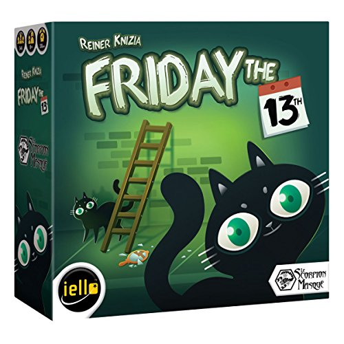 IELLO Friday The 13th Board Game (Hoax Board Game)