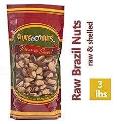 Brazil Nuts - 3 Pounds ,Whole, Shelled, ...