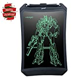Doodle Pad LCD Writing Tablet - NEWYES NYWT085D - 8.5 Inches Robot Pad Office Memo Home Message Board Kids Drawing board Electronic Graphic Drawing Tablet (Black)