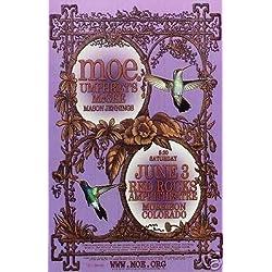 Moe Umphrey's McGee Rare Red Rocks Concert Poster