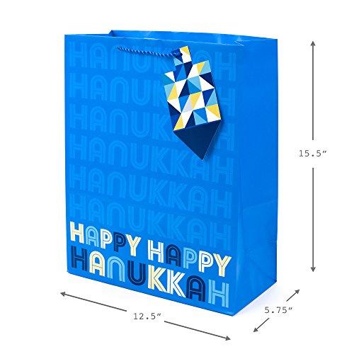Hallmark Tree of Life Hanukkah Extra Large Gift Bag (Happy Hanukkah)