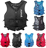 Life Jackets for Adults Kids,XS-XXL Kayak Life Jackets for Adults/Kids, Water Sport Boating Jacket Outdoor Spo