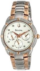Bulova Women's 98R177 Multi-Function Dial Watch