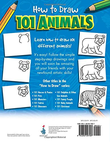 How to Draw 101 Animals (1)