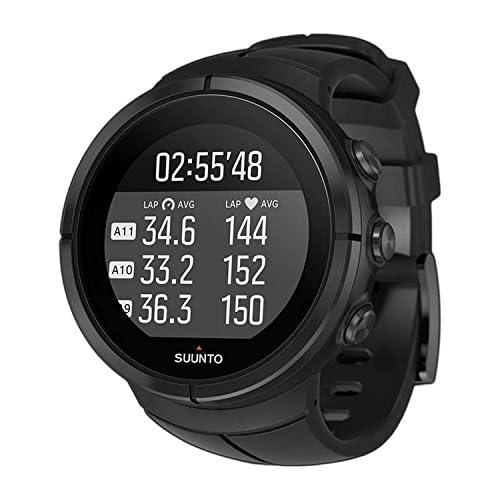chollos oferta descuentos barato Suunto Spartan Ultra All Black Titanium HR SS022654000 Reloj Multideporte GPS Cinturón de frecuencia c