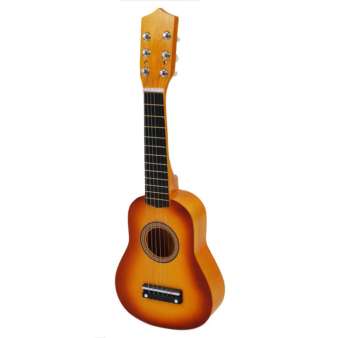 SODIAL(R) Hawaii Ukulele Mini Guitar 21 inch Acoustic Ukulele + Plectron 070838