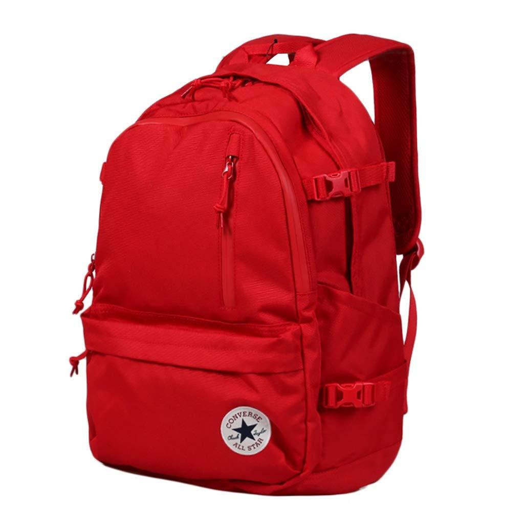 LIZIDSB Trekkingrucksäcke Rucksack Schultasche Unisex Schwarz Rot 31 * 15 * 46.5cm