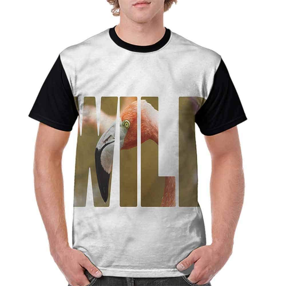 Fashion T-Shirt,Wild Caribbean Nature Fashion Personality Customization