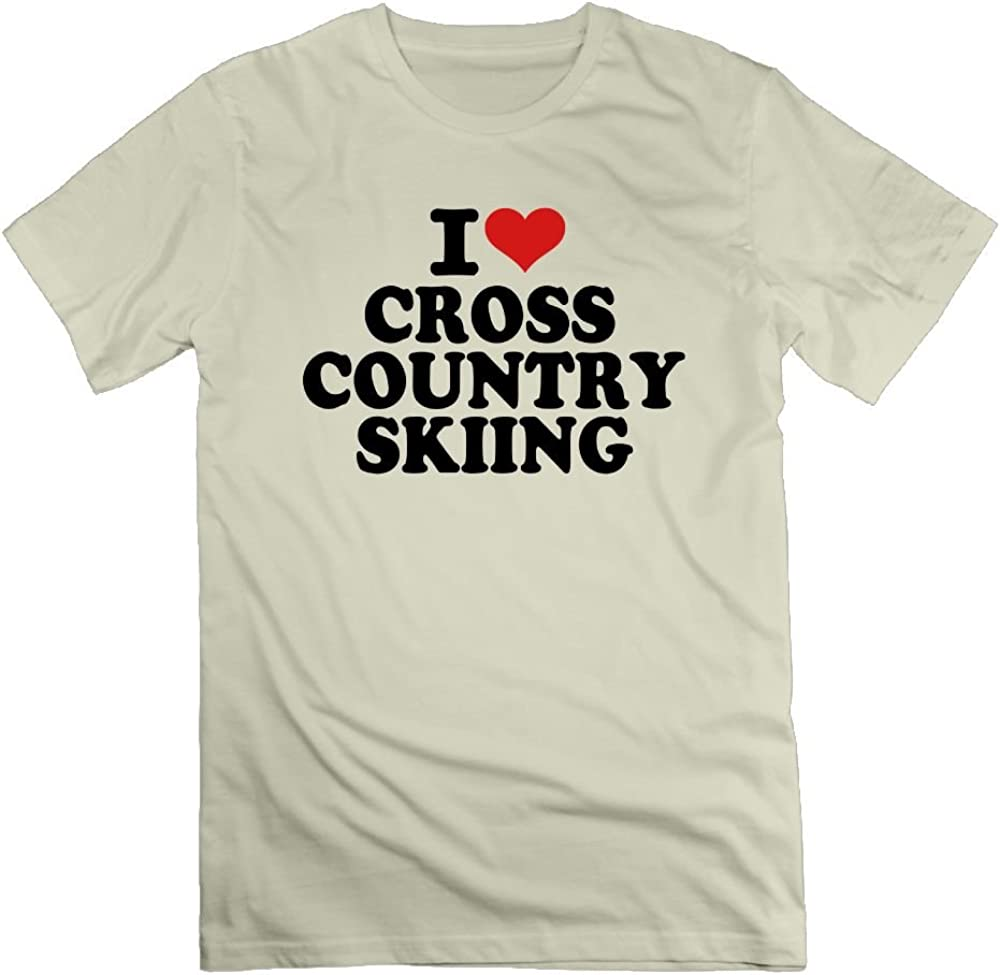 Nacustom I Love Cross Country Skiing 8076 Shirts