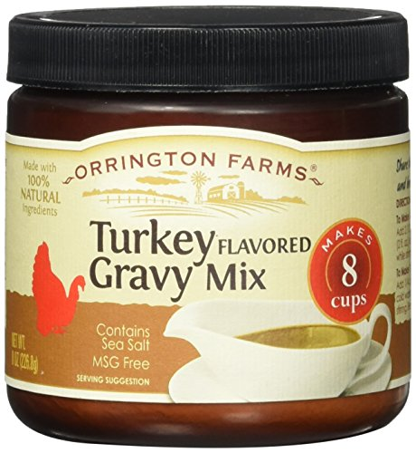 Orrington Farms Turkey Flavored Gravy Mix 8 Ounce