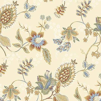 Norwall Gc29831 Jacobean Floral Wallpaper Amazon Com