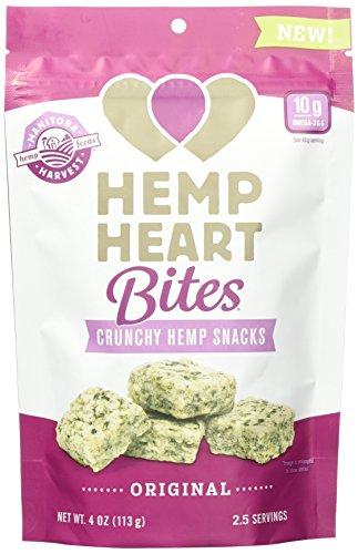 Manitoba Harvest Hemp Heart Bites, 4oz; Non-GMO Verified with 10g of Protein & Omegas per Serving