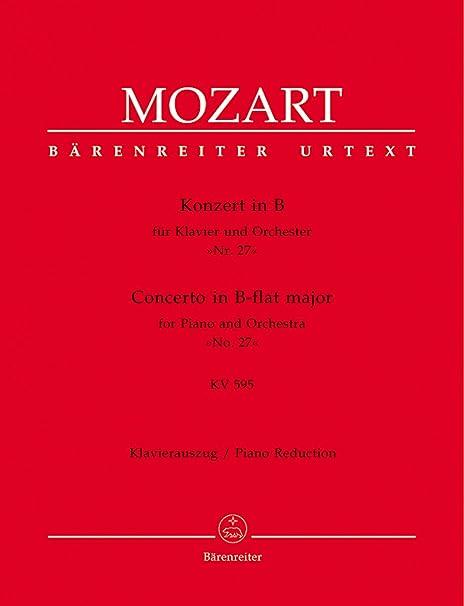 MOZART - Concierto para Piano nº 27 (K.595) en Sib Mayor para 2 ...