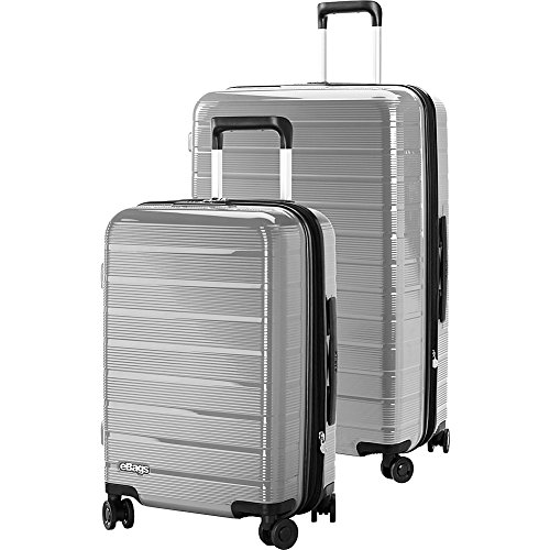 eBags Fortis Hardside Spinner 2pc Set (Grey)