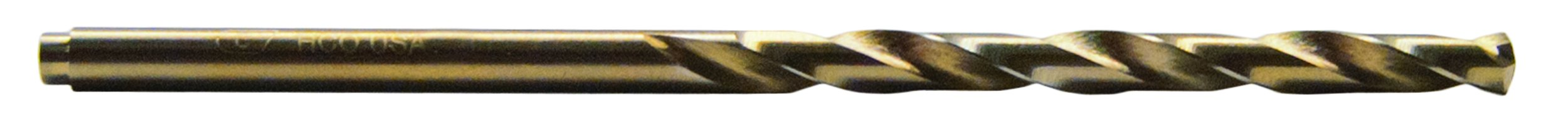 Century Drill and Tool 26207 Cobalt High Speed Steel Drill Bit, 7/64-Inch, 2 Pack