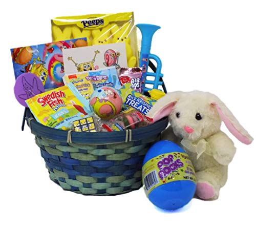 Spongebob Candy and Toy Easter Basket -