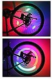 ZHD Night bike, light wind fire wheel, child bicycle tire, spoke wire, lamp lamp, decorating mountain bike.