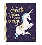 Daisy Student Planner 2018-2019 Academic Year Daily Planner August 2018 Through July 2019 Elementary School Middle School Planner 7'' x 9'' - Unicorn