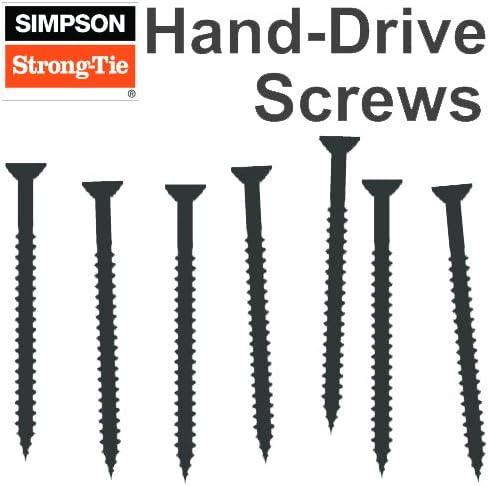 Simpson Strong-Tie E1B1414B #14 x 1 Self-Drilling Screw 3//8 Hex Head 2500ct