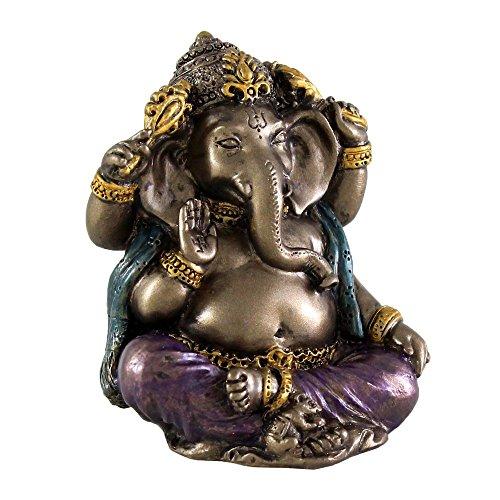 2 Inch Mini Ganesh Sculpture Statue Hindu Deity Hinduism Ganesha Elephant God