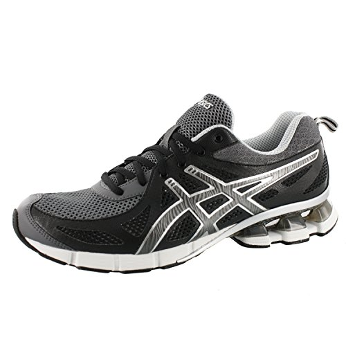 ASICS Men's Gel Fierce Running Shoe,Black/Onyx/Storm,7.5 M US