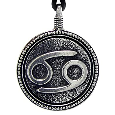 Amazon pewter cancer the crab zodiac sign astrology pendant pewter cancer quotthe crabquot zodiac sign astrology pendant aloadofball Choice Image
