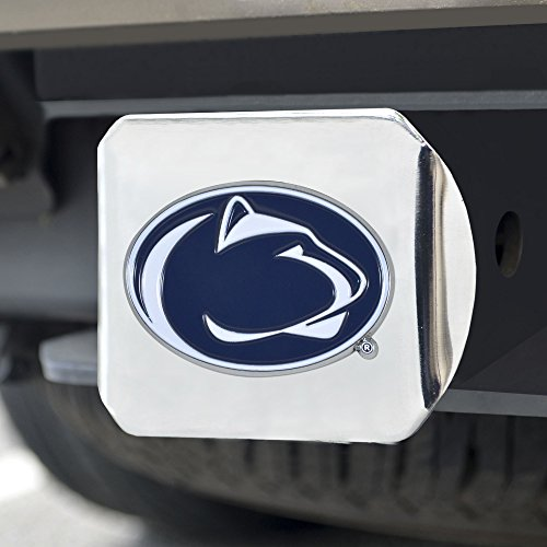 FANMATS 22813 Team One Size Color Hitch - Chrome ()