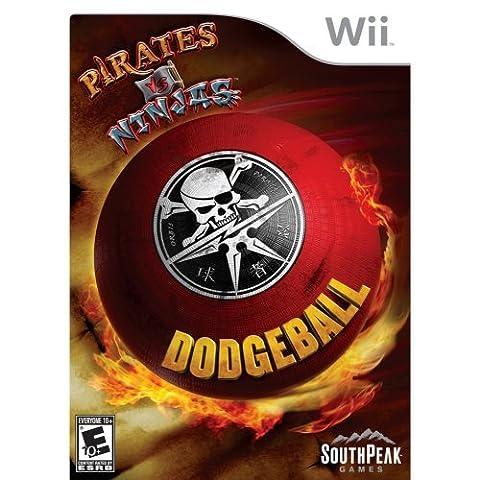 Pirates Vs. Ninjas Dodgeball - Nintendo Wii (Jake Wii)
