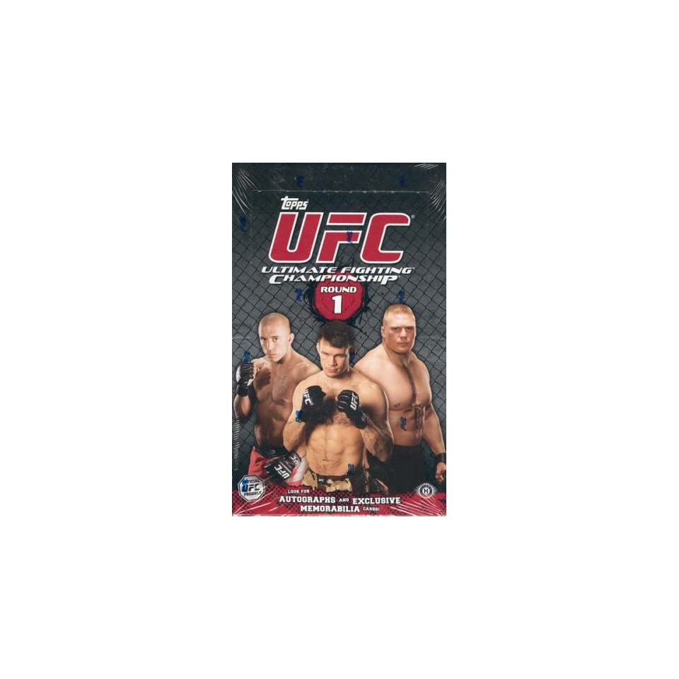 2009 Topps UFC Round 1 Trading Cards Box