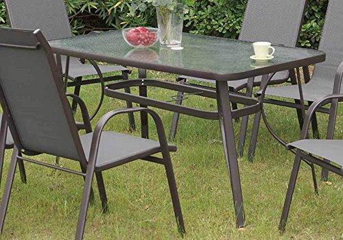 1PerfectChoice Stylish Patio Outdoor Garden Yard Dining Tabl