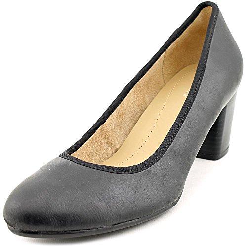 Naturalizer Pumps Closed Womens Black Naomi Toe smooth Classic Fabric ORq7WO6pF