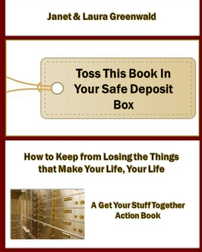 Toss This Book In Your Safe Deposit Box