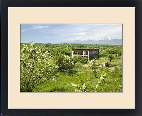 Framed Print of KOSOVO, Ranove. Christian village of Ranove destroyed during the Kosovo War by Fine Art Storehouse