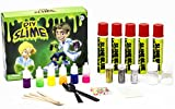 Amplifusion Huge Custom Slime Kit with Tons of Extra Fun Ingredients! Glow-in-The-Dark, 6 Neon Colors, 3 Glitters, Slime Beads, Slime Crystals Fun & Educational STEM Gift!