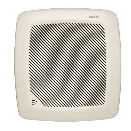 Broan QTRE100S Ultra Silent Humidity Sensing Fans with Sensaire - Sensing Humidity Bathroom Fan