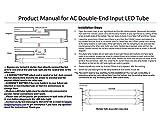 Fulight Ballast-Bypass & UV Blacklight T8 LED