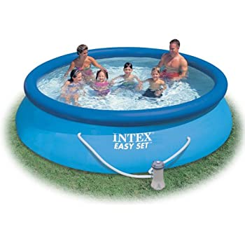 Intex 10 39 X 30 Easy Set Above Ground Inflatable Swimming Pool 28120e Above