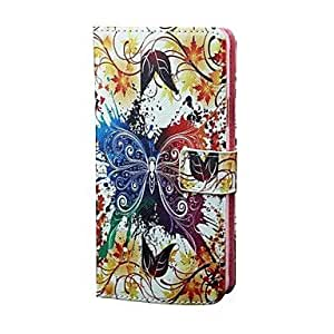 SHOUJIKE Samsung Galaxy Note 4 compatible Graphic/Special Design PU Leather Full Body Cases