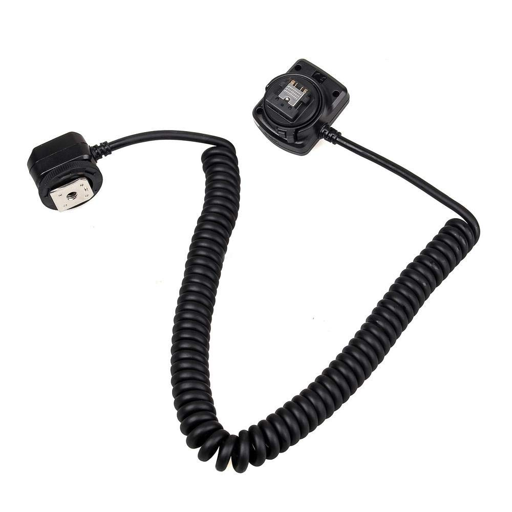 HAMISS for MK-FA02 3M 10Ft 118 Inches Off Camera MI Multi Interface Flash Sync Cable Cord for for Sony A9 A7M3 A7R3 A7M2 A7R by HAMISS