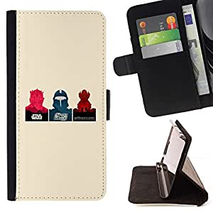 For HTC DESIRE 816 Star Wars Posters Beautiful Print Wallet Leather Case Cover With Credit Card Slots And Stand Function