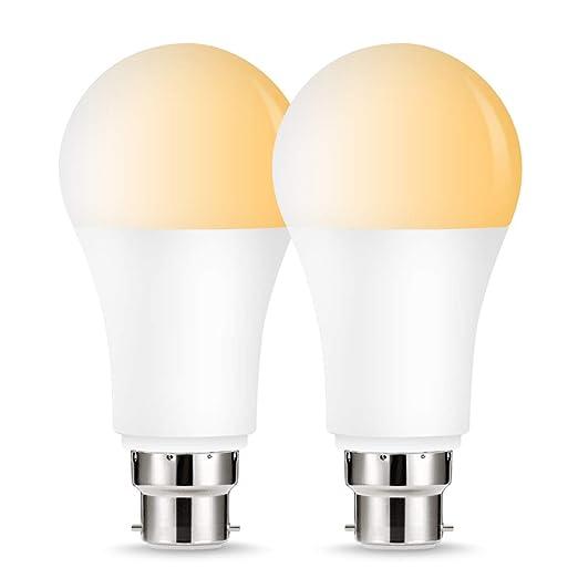 Lohas Smart Light Bulbs Tunable White 2000k 6500k A60 B22 Dimmable