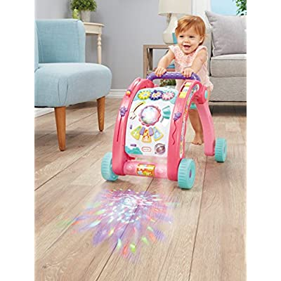 Little Tikes 3-in-1 Activity Walker, Pink: Toys & Games