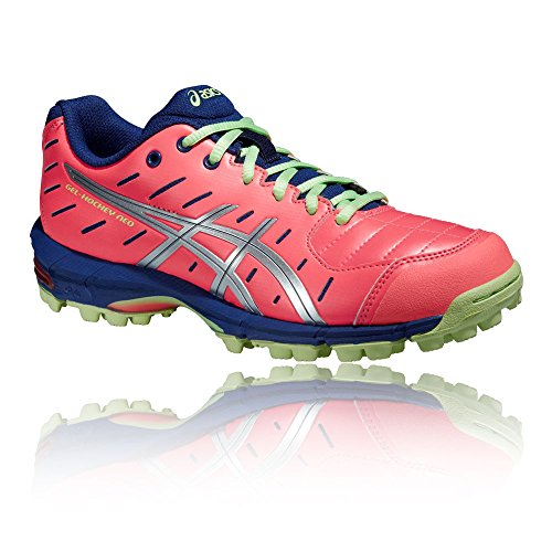 Asics Gel-Hockey Neo 3 Women's Shoe orange - silver - navy RTchEvePNW
