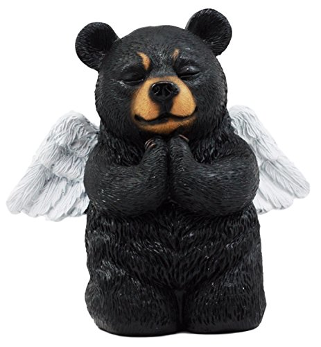 Ebros Praying Winged Angel Bear Figurine 5