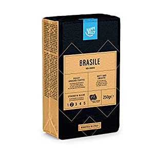 "Marca Amazon – Happy Belly Café molido ""BRASILE"" (4 x 250g) 518oYiwWBaL"