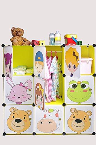 DIY Kid's Cube Furniture, Wardrobe, Closet, Organizer, Safe