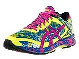 Asics Women's Gel-Noosa Tri 11 Safety Yellow/Hot Pink/Electric Blue Running Shoe 8 Women US