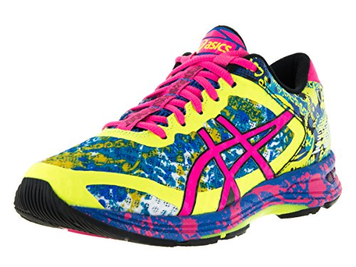 asics-womens-gel-noosa-tri-11-safety-yellow-hot-pink-electric-blue-running-shoe-8-women-us