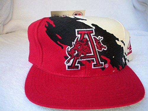 5a6a78d67ef Arkansas Razorbacks Splash Snapback Hat. by Logo Athletic